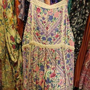 Spell and the Gypsy Babushka strappy midi XL